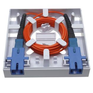 Newtech 552-103 1 Port Fiber Termination Box FTTH Wall Mount