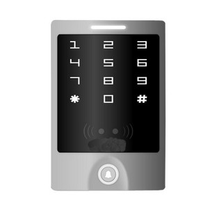New Tech 356-3000 Digital Weatherproof Keypad Metal Housing and Reader