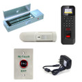 Biometric Access Control Kit Reader Magnetic Lock RTE Motion Sensor