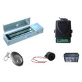 Jewelry Store Magnetic Lock Access Control Kit Maglock Remote Control