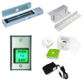 Cell Phone Magnetic Lock Access Control Kit Maglock Smart Plug In Swing