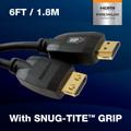 6' Premium Certified 4K Ultra HD High Dynamic Range Triple Shield
