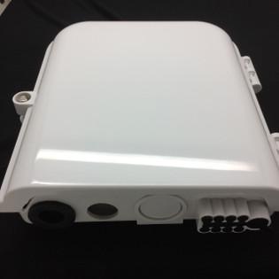 Newtech 552-106-8SCSM 8 Port SC sM Weather Resistant Fiber Termination Box Wall Pole Mount