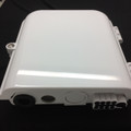Newtech 552-106 up to 8 Port Weather Resistant Fiber Termination Box Wall Pole Mount