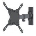 "Manhattan 461399 13""- 42"" Single Arm Articulating TV Mount Tilt Swivel"