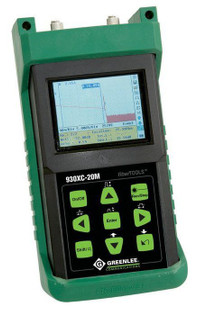 Greenlee 930XC-20C-APC-SC SM Dual Wave OTDR OPM SLS APC