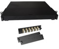 Fiber Rackmount Panel Front Panel Covered 12 LC MM