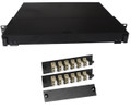 Fiber Rackmount Panel Front Panel Covered 24 LC MM