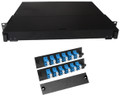 Fiber Rackmount Panel Front Panel Covered 24 LC SM