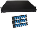Fiber Rackmount Panel Front Panel Covered 36 LC SM