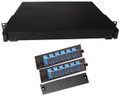 Fiber Rackmount Panel Front Panel Covered 12 SC SM