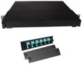 Fiber Rackmount Panel Front Panel Covered 6 SC OM3
