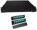 Fiber Rackmount Panel Front Panel Covered 12 SC OM3