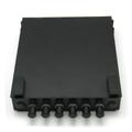 6 Port Mini Wall Mount Fiber Panel ST MM
