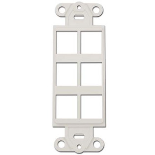 6 Cavity Decora Keystone Insert