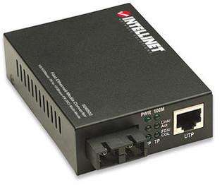 SC to RJ45 Ethernet Media Converter Multimode 10/100