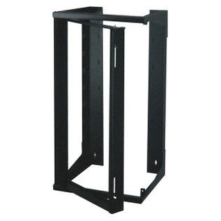 "Wall Mount Swing Out Rack 25RU 18"" Depth (324-301)"