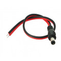 DC Male Power Cord Adapter Plug 2.1mm