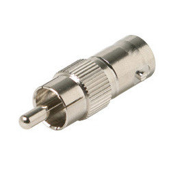 BNC Jack to RCA Plug Adapter