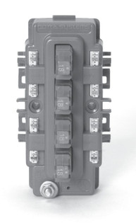 606-27 4 Pair CAT 6 protector pack; 110 termination in / out; with 27V Solid State protectors