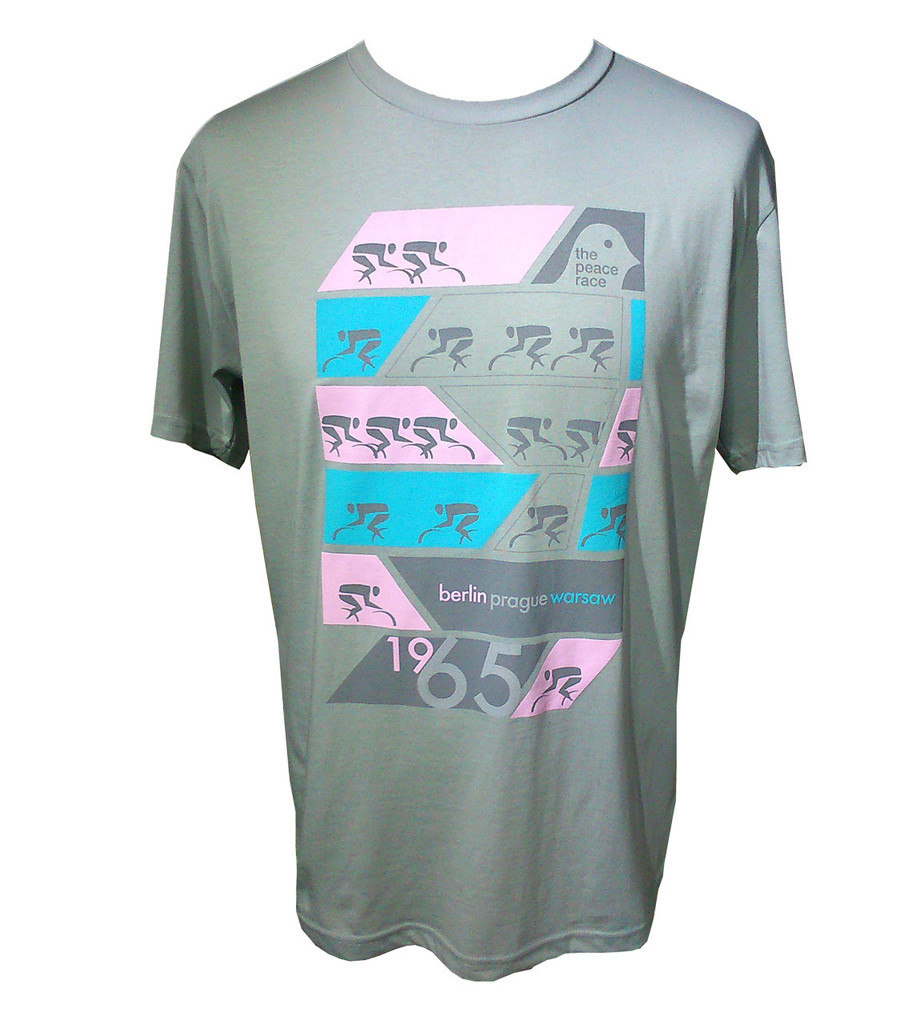Peace race cycling T shirt