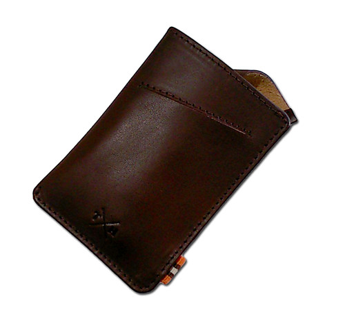 Tumble & Hide Brown Tudor Adept Leather Card Holder