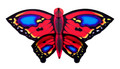 New Tech kites - Red Forest Butterfly (Dye-Sub)