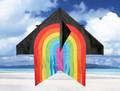 "Skydog kites - 55"" Delta ""Black Rainbow"""