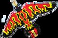 "Skydog Kites - 66"" Fire Bird"