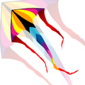 "New Tech kites - Cascade Delta 6' ""Summer"""