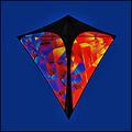 """Prism Designs - Stowaway Diamond Single line kite """"Fusion"""""""