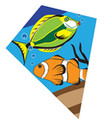"Skydog Kites- 40"" Tropical Fish Diamond"