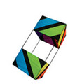 "Skydog Kites-30"" Rainbow Box"