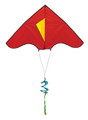 New Tech kites - Delta kites - solid color Red