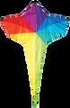 "Skydog Kites - 46"" Rainbow Star"