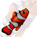 New Tech Kites - Clownfish windsock
