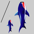 New Tech Kites - Shark fish stick
