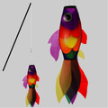 New Tech Kites - Rainbow Koi fish stick