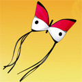 "Gomberg Kites - Butterfly ""Red"""
