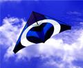 New Tech kites - Ascension Delta (Blue Ascension)