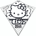 "XKites - Color me Kite ""Hello Kitty"""