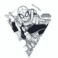 "XKites - Color me Kite ""Spider-Man™"""