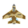 "WindnSun - Microkite Jet ""F-16 Fighting Falcon"""