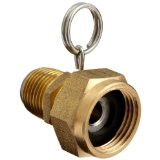 8-5/8-B Swivel 1/2 x 5/8 brass