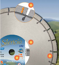 Norton Silencio Diamond Blade 70184684550 Small Seeds