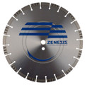 18 x 155 Zenesis Cured Concrete Pro Diamond Blade Road Street Demolition Repair