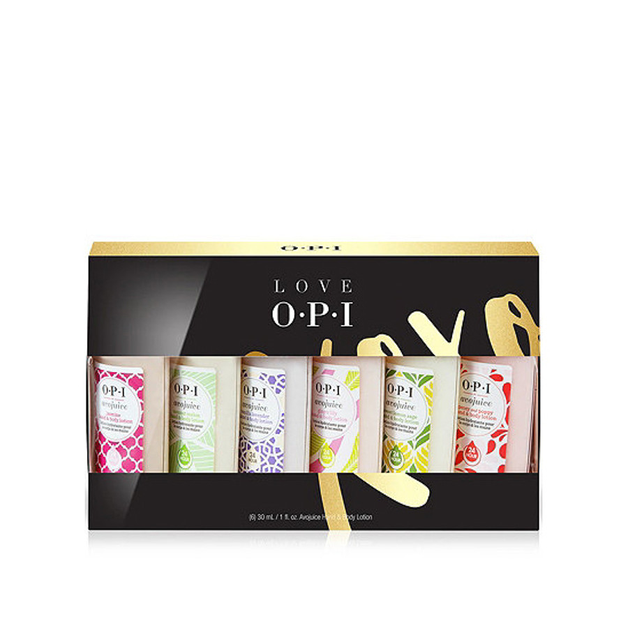OPI Love XOXO 6-Pc Avojuice Set