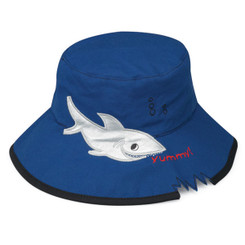 Wallaroo Hat Kids Blue Shark