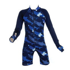 Sun Protection Zone Boys One Piece Long Sleeve Suit