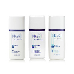 FREE Travel Size Obagi Foaming Gel, Gentle Cleanser & Toner with any $100 Obagi Purchase